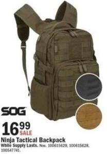 Ninja Tactical Backpack