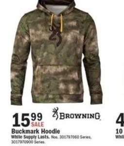 Browning Buckmark Hoodie