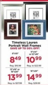 Timeless Lauren Portrait Wall Frames 16x24""