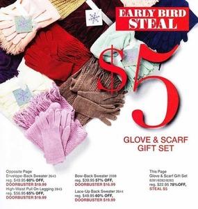 Glove & Scarf Set