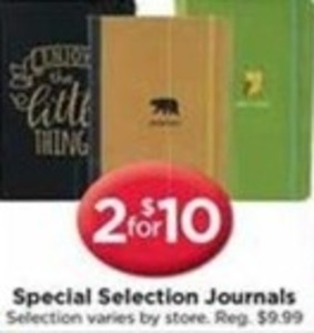 Special Selection Journals