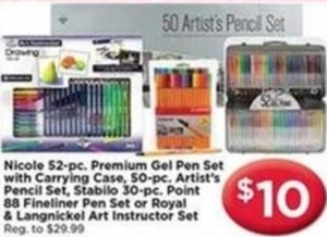 Select Art Pens/Pencils
