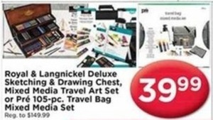 Mixed Media Travel Art Set