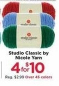 Studio Classic by Nicole Yarn