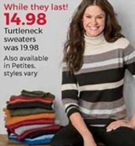 Women's Turtleneck Sweaters