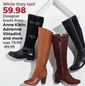Anne Klein Designer Boots