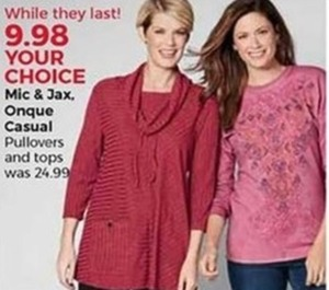 Mic & Jax Onque Casual Pullovers And Tops