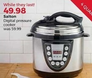 Salton Digital Pressure Cooker