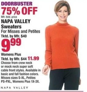Napa Valley Sweaters