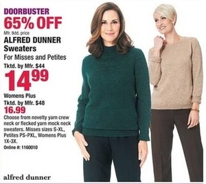Alfred Dunner Sweaters, Women's Plus