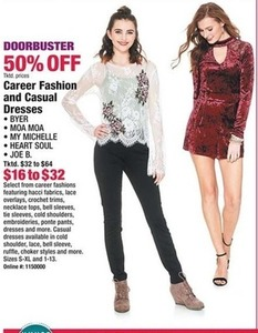Career Fashion and Casual Dresses