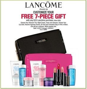 7pc Gift Set w/ $35 Lancome Purchase