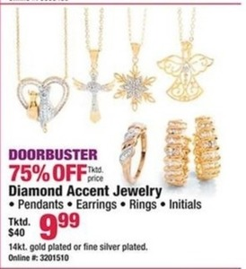 Diamond Accent Jewelry