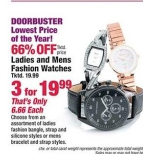 Ladies and Mens Fashion Watches