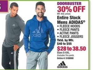 Entire Stock Mens Adidas