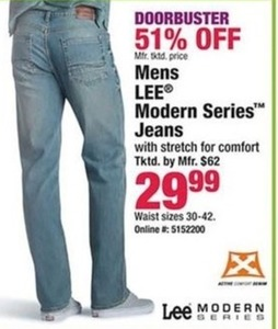 Men's Lee Modern Series Jeans