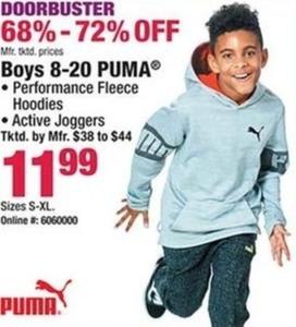Boys 8-20 PUMA