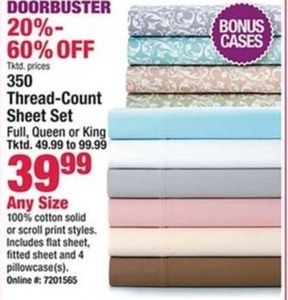 350 Thread-Count Sheet Set