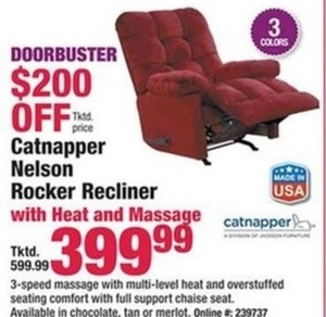 Catnapper Nelson Rocker Recliner