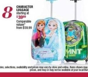 Kids' Character Luggage