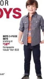 Boys 3-Piece Sets