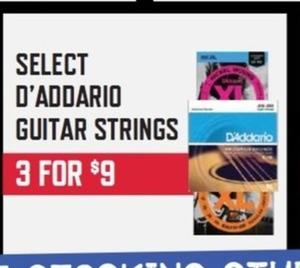 Select D'Addario Guitar Strings