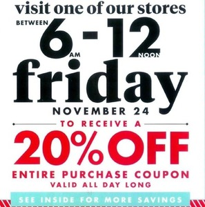 Sitewide Coupon | 11/24 6am - 12pm