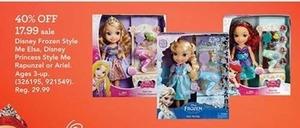 Disney Frozen Style Me Elsa