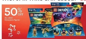 Lego Dimensions Figures