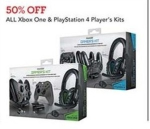 All Xbox One Play Station 4 Player's Kits