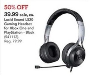 Lucid Sound LS20 Gaming Headset