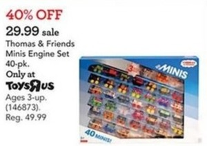 Fisher-Price Thomas & Friends Minis Engine Set - 40-Pack