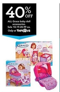 All Graco Baby Doll Accessories