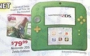 Nintendo 2 Ds Zelda Edition