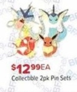 Collectible Pin Sets 2-Pack
