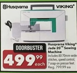 Husqvarna Viking Jade 20 Sewing Machine