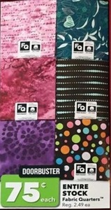 Fabric Quarters