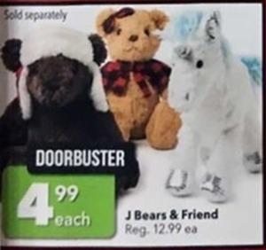 J Bears & Friend