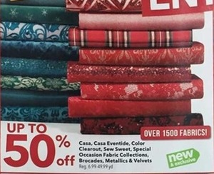 Casa Casa Eventide Color Clearout Sew Sweet Special Occasion Fabric