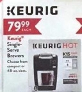 Keurig Single-Serve Brewers