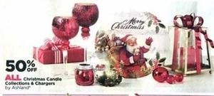 All Christmas Candle Collections & Chargers