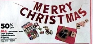 All Christmas Cards, Tags, Stickers, Embellishments & Stamps
