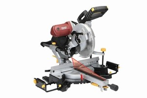 "Chicago Electric 12"" Double-Bevel Sliding Compound Miter Saw With Laser Guide"