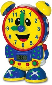 The Learning Journey Telly the Teaching Time Clock (Primary)