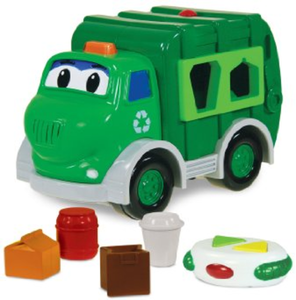 The Learning Journey Shape Go Green Recycle Truck