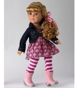 "Madame Alexander 18"" Too Cute In Boots Doll"