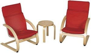 ECR4Kids Comfort Chairs and Table Set