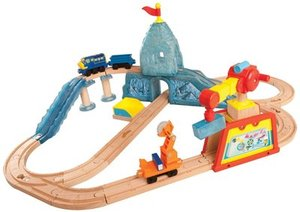 Chuggington Wooden Railway Brewster's Icy Escapade Set