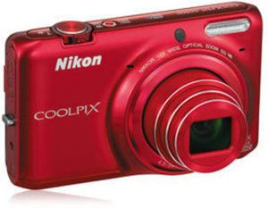 Nikon COOLPIX S6500 16.0MP Digital Camera + Free Case & 8GB Memory Card