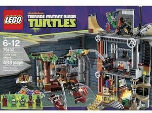 Lego Teenage Mutant Ninja Turtles Lair Attack After Coupon
